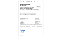 INNOTEK received ISO 14001:2004 by Tuvnord, Germany